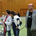 Boris, Anita, Klaus vom TV Waibstadt